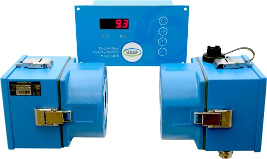Double Pass Opacity Monitor Model 6010