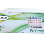 CEMGAS 5000 NO/NO2/NOx Laser Analyzer sitting on a white background.