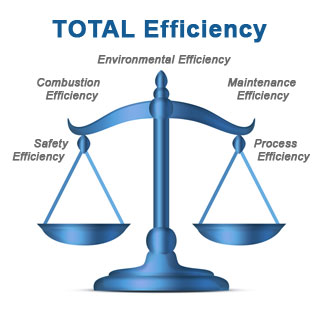 Total Efficiency Balance Scale